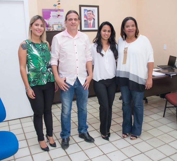 UNIÃO: Secretária da Mulher Taniery busca parcerias com secretária de Estado Laurinda Pinto.