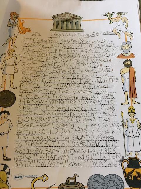 Part 2 of a Greek God story
