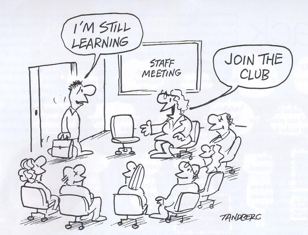 Regular Staff Meetings Simon Brown