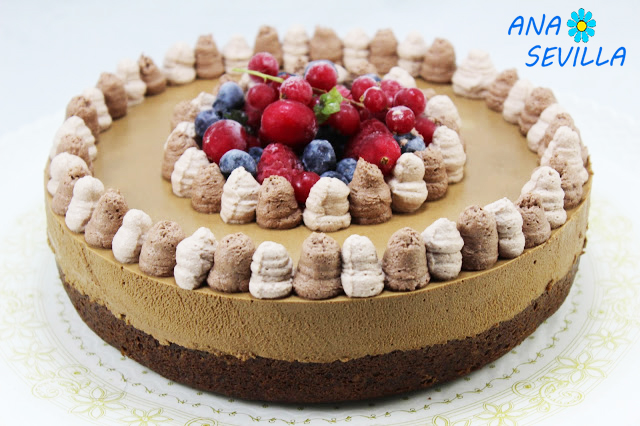 Tarta mousse de chocolate con brownie olla GM Ana Sevilla
