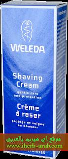 كريم الترطيب ما بعد الحلاقة من اي هيرب Weleda, Moisture Cream for Men, 1.0 fl oz (30 ml)