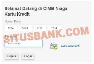 Cara Cek Tagihan Kartu Kredit Niaga Online