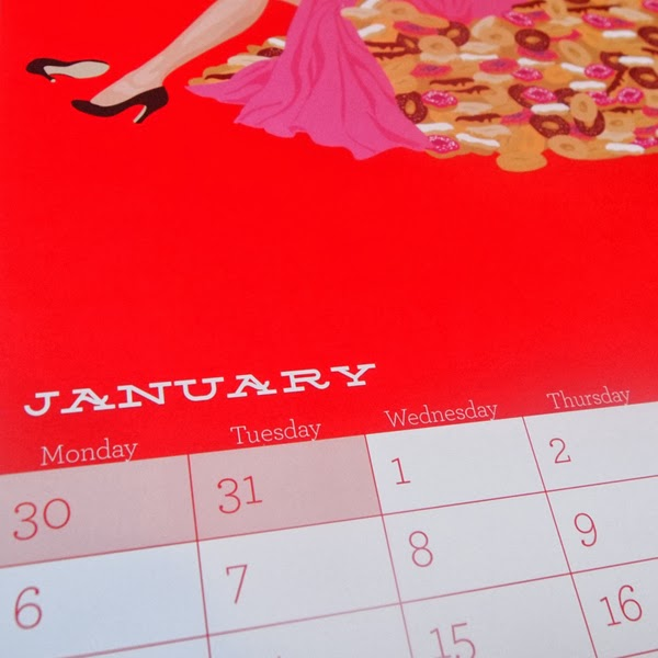 ©Ben O'Brien. 'Twisted Fifties' 2014 Calendar