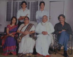 Naga Chaitanya Family photo