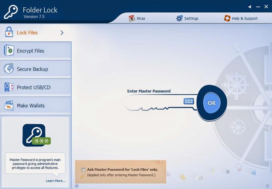 Folder Lock ( Cara mudah mengunci file/folder dipc)
