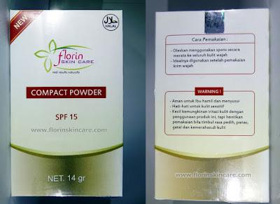 Florin Skin Care Bedak Padat