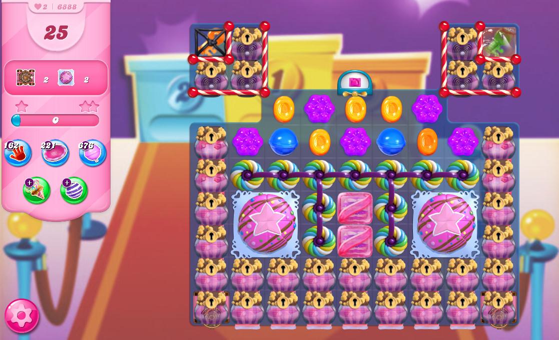 Candy Crush Saga level 6888