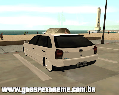 Volkswagen Gol G4 1.8 Power 2008 Edit para grand theft auto