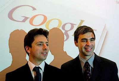 صرة مؤسسي جوجل