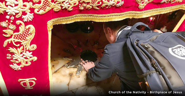 206 tours - relics blog - church of the nativity