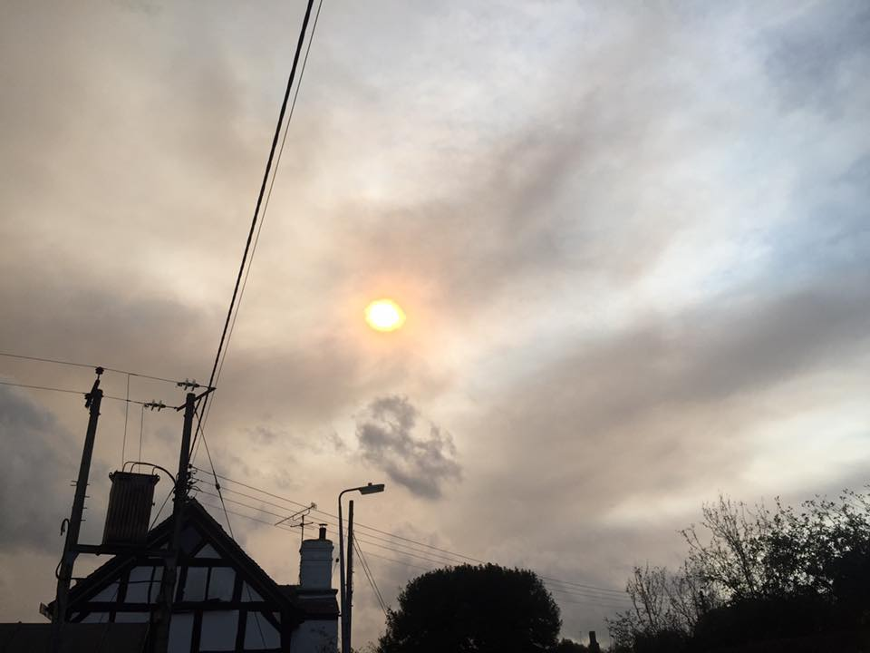 All too Human : Storm Ophelia and the Psyche...Metaphor or ...