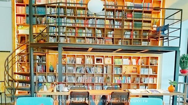 【南投草屯美食餐廳】時習之商行-Reader`s Station咖啡店-閱讀生活-書店咖啡廳