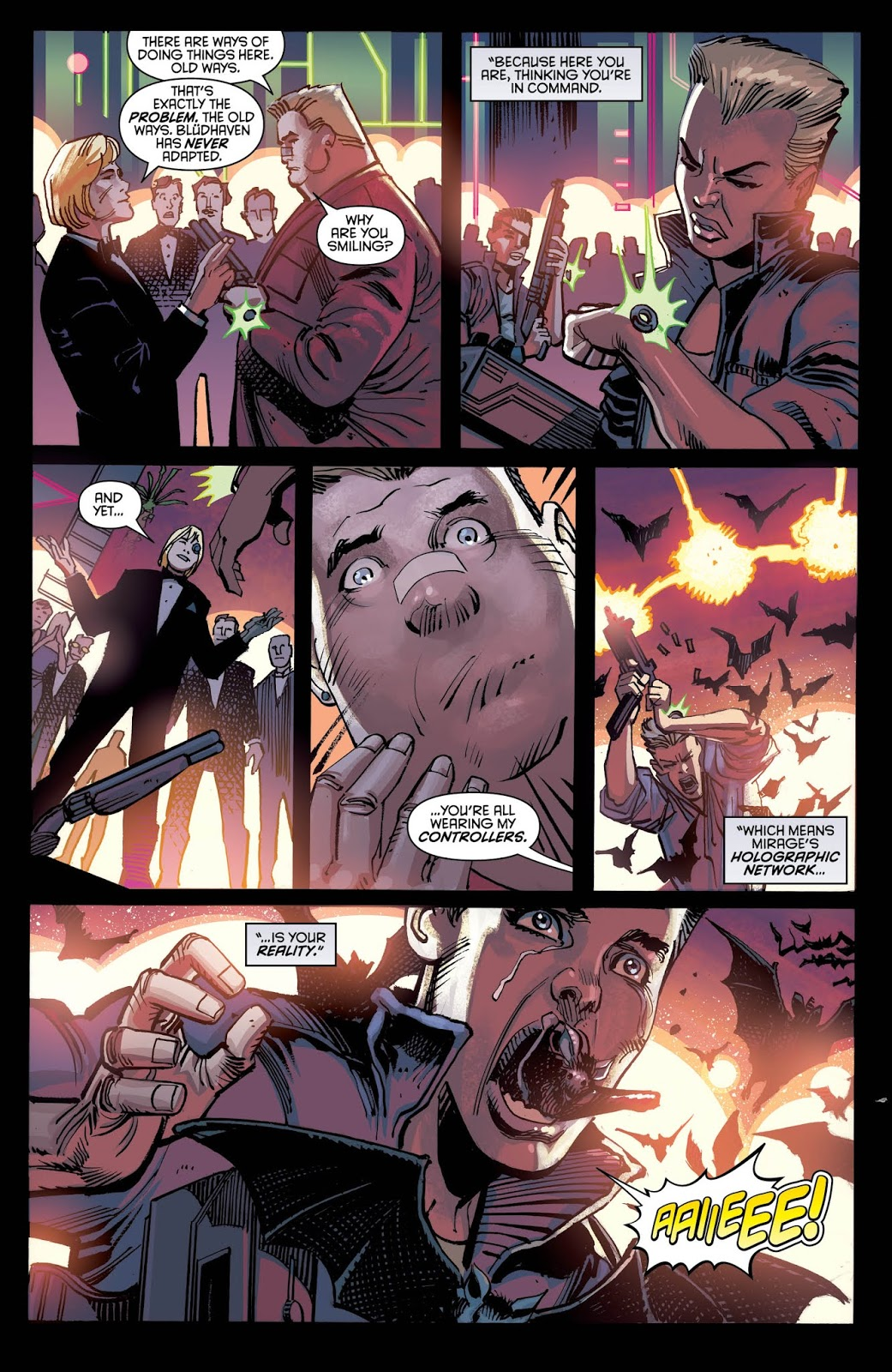 NIGHTWING #47 Page 5. Image Courtesy of DC Entertainment.