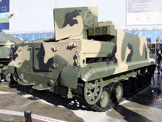 BT-3F Tracked Amphibious Armoured APC