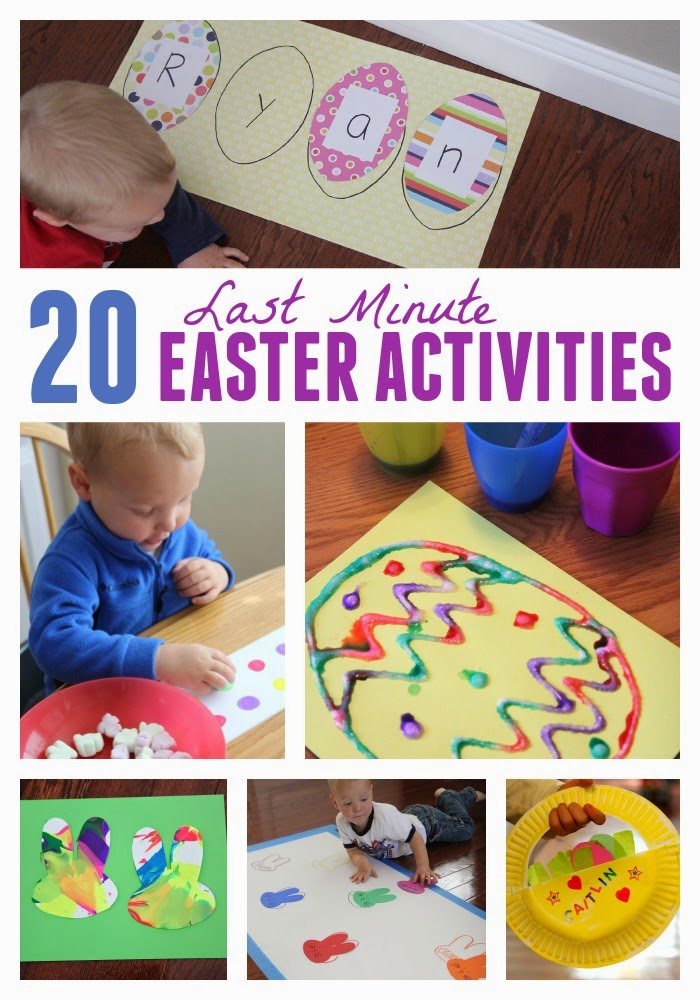 Toddler Approved 20 Last Minute Easter Activities For Kids