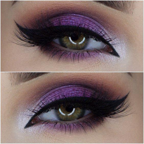 Dark Purple Bridal Makeup : ???????? ?? ?????????? ??? ???!