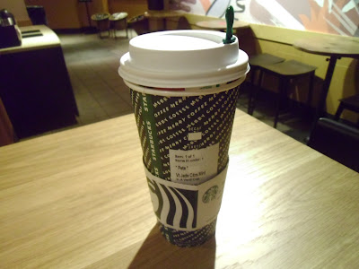 Starbucks Venti Jade Citrus Mint hot tea