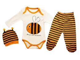 sevimli zıbın,arı baskılı zıbın,arı desenli zıbın,3 parça zıbın seti