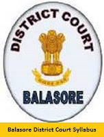 Balasore District Court Syllabus 2017