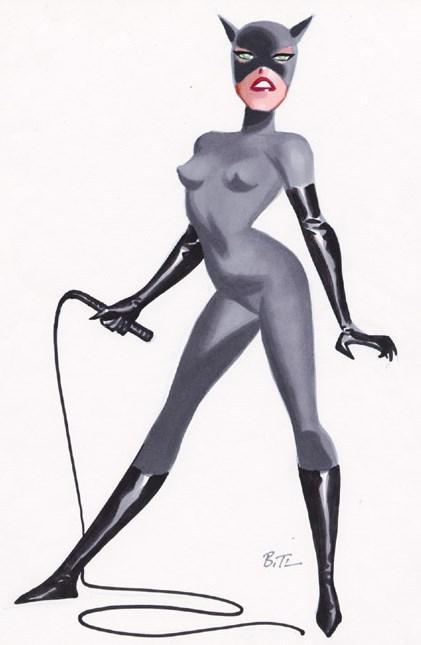 Alexis Meunier Infographie 3d Catwoman