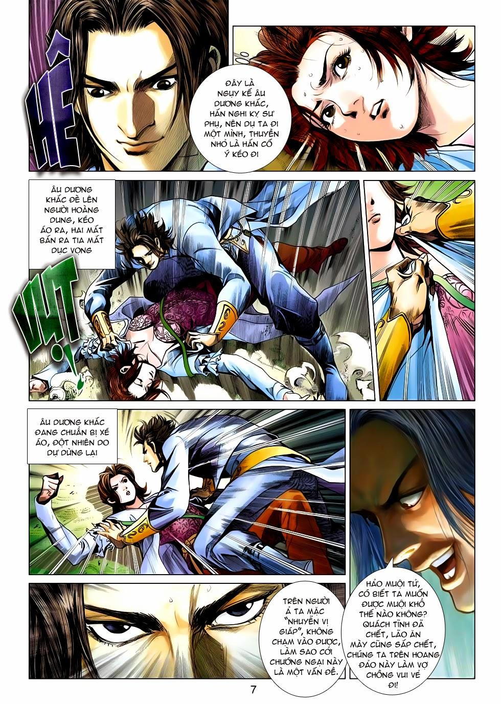 Anh Hùng Xạ Điêu anh hùng xạ đêu chap 54: kiếp hậu dư sinh thiến nữ kỳ mưu trang 7