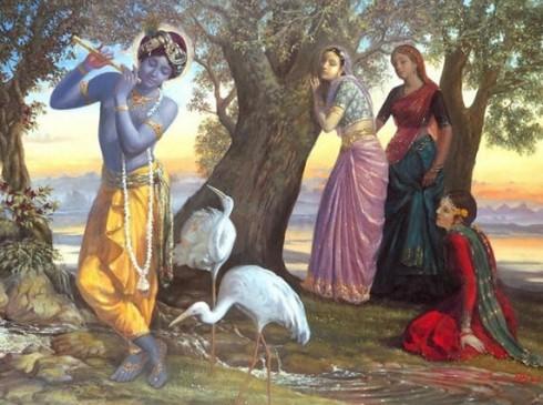 relationship of gopis and krishna