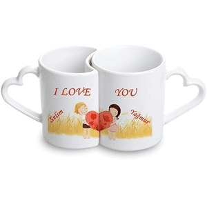 Sevgiliye özel kupa bardak