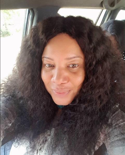 Monalisa Chinda goes without makeup