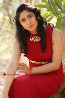 Telugu Actress Zahida Sam Latest Pos in Red Gown at RF Films New Movie Opening  0339.JPG