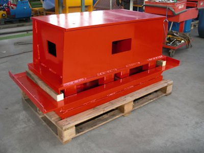 Block making machine molds