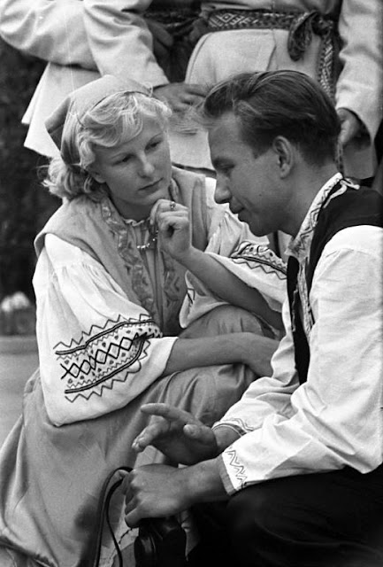 Праздник песни и пляски в Риге в 1960 году