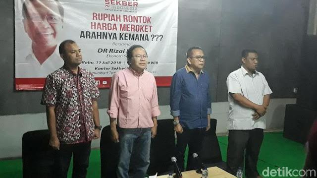 Rizal Ramli Kembali 'Kepret' Sri Mulyani soal Kondisi Ekonomi RI