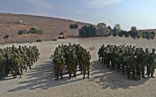 Εκπαίδευση 88 Στρατιωτικής Διοίκησεως στη Λήμνο