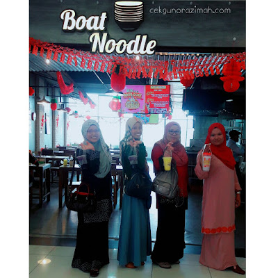 cerita cikgu, boat noodle