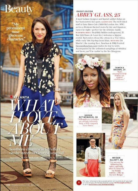 Marie Claire & The Fashion Kuhlt
