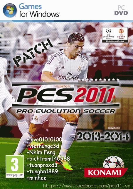 Patch PES 2011 Season 2014 Final Big Update