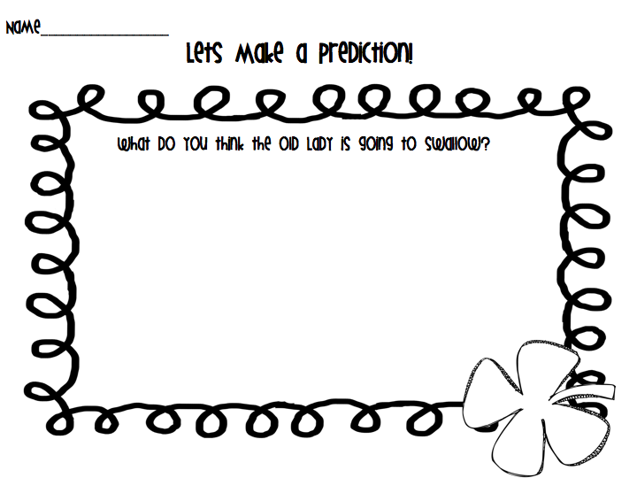 All That Glitters In First Grade: Reading Response Freebie