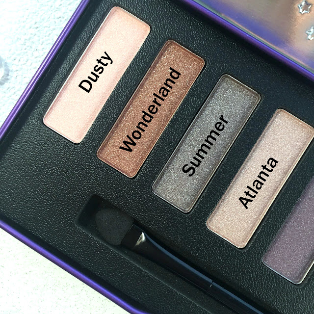 W7 Cosmetics In The Night Palette