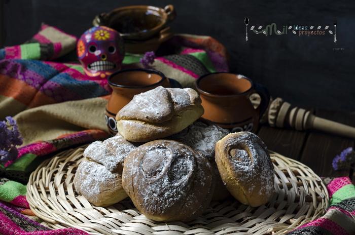 como preparar pan muerto