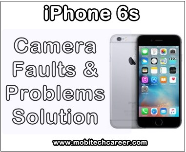 Apple iPhone 6S - Camera Faults or Problems Solution in Hindi:  (How to repair, fix & solve camera not working faults)       Smartphone Camera:  Camera Smartphone me photo capture karne or video record karne ka karya karta hai. yah different Smartphone me different Mega pixel (MP) ke hote hai. Smartphone mobile ke camera acchi quality ke hote hai. Android Smartphone repairing me aaj aap Apple iPhone 6S ke camera ki all faults ko solve karna sikhenge.      Apple iPhone 6S Smartphone Camera Faults or Problems:  1. Camera not capture photos  2. Camera not working  3. Camera Error on Display Screen  4. Camera ON during standby problem   5. Camera not open problem  6. Camera not capture clear photos  7. Smartphone camera not work propar        Camera Not Capture Clear Photos Problem Solution  Agar camera acche se clean photo capture nahi kar raha hai to in steps se fault ko solve kare -     1. Camera ke lens ko clean kare. Dirt ko hataye.   2. Camera ke point clean karke resold kare or connect kare.   3. Smartphone PCB par Camera section ko wash karke clean kare.   4. Camera ko change kare.      Apple iPhone 6S Camera All Problems or Faults Solution in Hindi  Is phone me camera ki kisi bhi type ki fault ko fix, repair or solve karne ke liye ye steps follow kare -      1. Sabse Pahle Phone me camera open karke Camera ki setting ko acche se check kare.      2. Phone ko open kare. Camera ko camera connector se bahar nikale or camera connector ko acche se clean or wash karke Camera lagaye.      3. Camera Section ke parts check kare, fault ho to parts resold or change kare. Agar fault solve na ho to next steps ko follow kare.      4. Camera section track ways ko check kare, camera ways broken hai to jumpar kare.     5. Camera hataye or Camera touching points, camera connector or camera section ko acchi tarah se wash or clean kare.     6. Camera change kare. Agar fault solve na ho to next step follow kare.      7. Camera Drive IC ko Heat, Reball or Change Kare.      Keywords: mobile, cell phone, iphone repair, smartphone, how to fix, solve, repair Apple iPhone 6S, camera not working, camera not open, standby mode, camera error, camera not save pictures, camera not captures pics, problems, faults, jumper, solution, kaise kare hindi me, camera repairing, tips, guide, video, pdf books, download, in hindi.