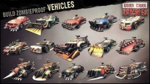 Guns, Cars, Zombies MOD APK+DATA Terbaru
