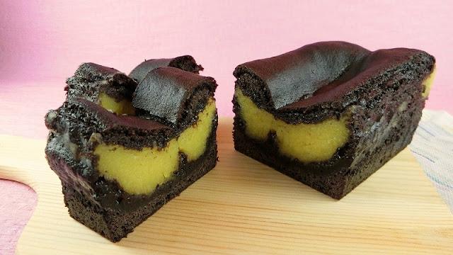 栗きんとんをリメイク!ブラックココアパウダーのパウンドケーキの作り方
