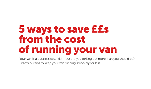 Run your van for less