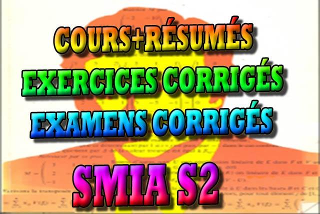 SEMESTERE 2, SMIA S2, COURS, EXERCICES CORRIGÉS, EXAMENS CORRIGÉS, SMIA, SMIA S2, Mathématique, Maths, SMIA, S2, Cours, TD, TP, Contrôle continu, examen, exercice, cours gratuit, cours de maths gratuit, cours en ligne gratuit, Smia s2 , Analyse 2 , Intégrale et Equations différentielles et Courbes paramétrées , Analyse 3 , Formules de Taylor, Développement Limité et Applications , Algèbre 3 , Espaces Vectoriels, Matrices et Déterminants , Physique 3 , Électrostatique et Électrocinétique , Physique 4 , Optique 1 , Informatique 2 , Algorithmique I , Faculté, Science, Université, Faculté des Sciences