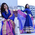 Mehreen Blue Long Salwar