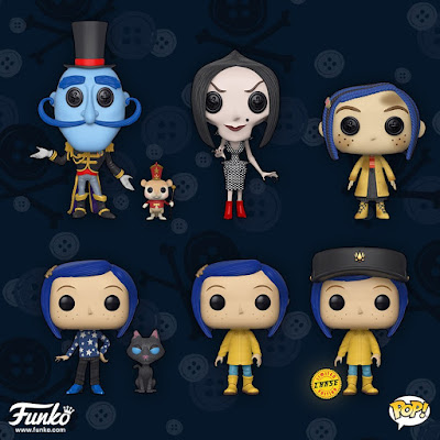 Coraline Pop! Movies Vinyl Figures by Funko