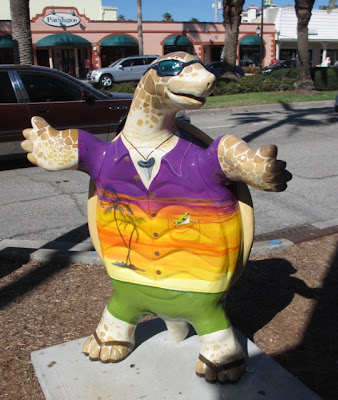 painted turtle in Venice, Florida