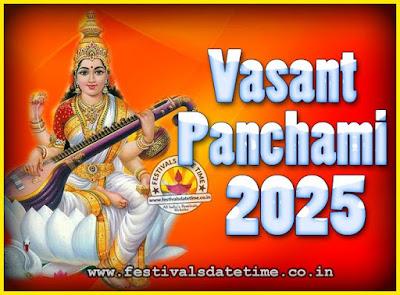 2025 Vasant Panchami Puja Date & Time, 2025 Vasant Panchami Calendar
