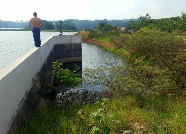 Guarda Municipal de Jundiaí salta de barragem e resgata vítima de represa