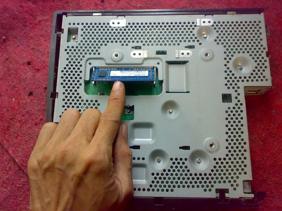 HP mini HP T5740 Memory Bawah